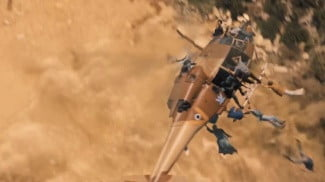World War Z special effects helicopter