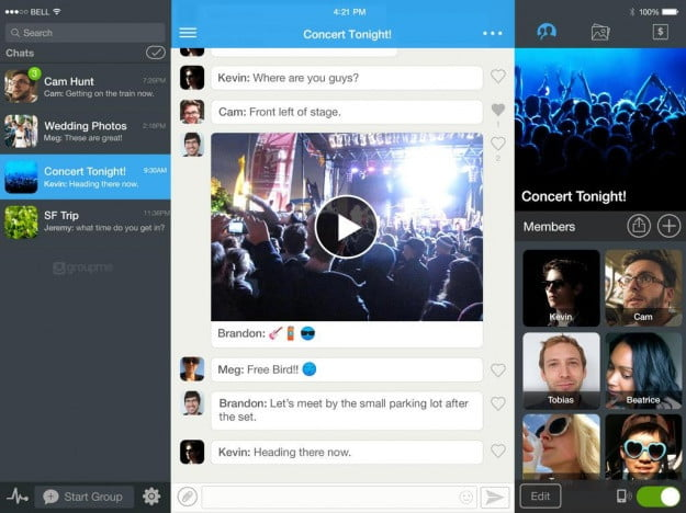 GroupMe_iPad_app_screenshot