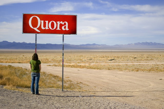 quora says its site is accessed  million times a month