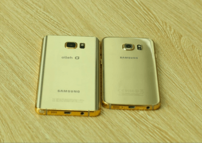 Gold Galaxy Note 5 S6 Edge Plus
