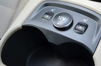 ford electric focus heated seats cup holders