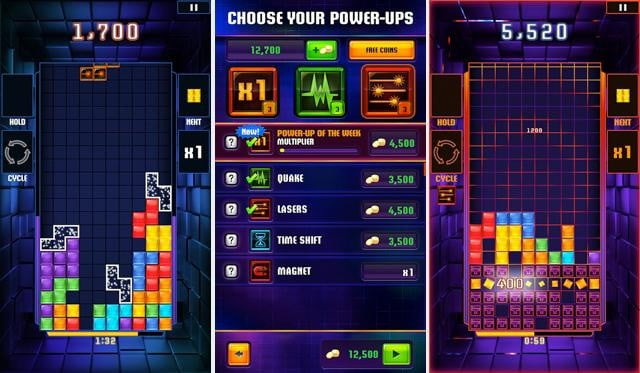Tetris Blitz Screen
