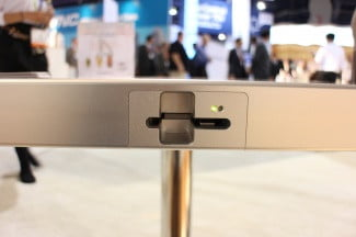 Moneual touch table card slot