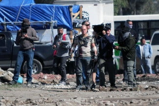 Neil Blomkamp interview Elysium set