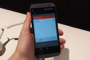 HTC One M8 hands on pairing