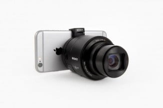 Sony QX Lens w iPhone 6 [Photo Credit: photojojo]