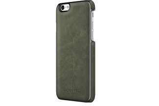 Green leather adpoted iPhone 6 case leather