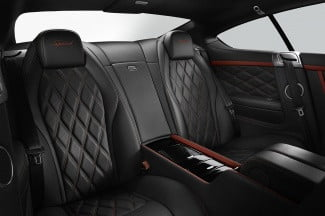 2014 Bentley Continental GT Speed rear_cabin