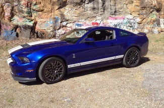 Ford Mustang Shelby GT 500 left side