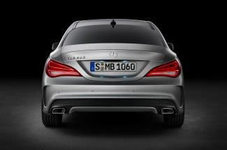 2014 mercedes benz cla250 rear