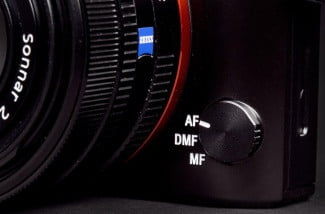 Sony Cyber shot RX1 review focus dial
