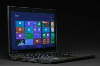 Lenovo Thinkpad X240 angled open