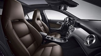 2014 mercedes benz cla250 interior front