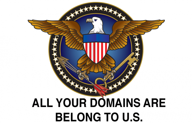 US government, ICE seize websites
