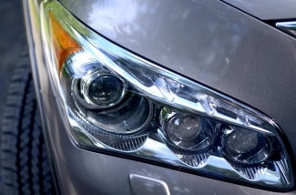 2013 Infiniti QX56 review headlight angle
