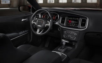 2015 Dodge Charger interior