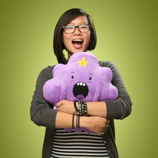 thinkgeek_f0c9_adventure_time_14in_cuddle_pillows_inhand