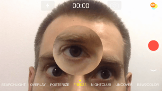 Magnify/Freeze effect