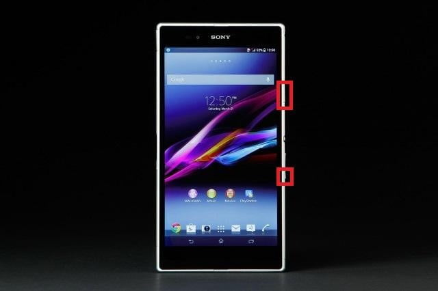 Sony Xperia Z Side Buttons