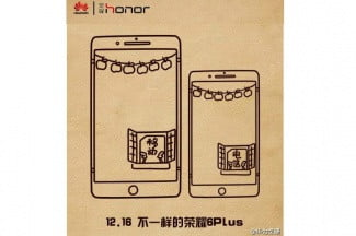 Huawei Honor 6 Plus Teaser