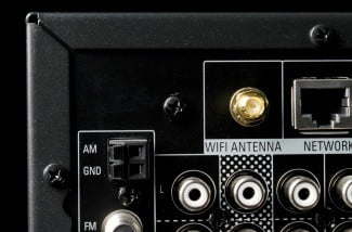 Harman Kardon AVR 3700 review top back corner