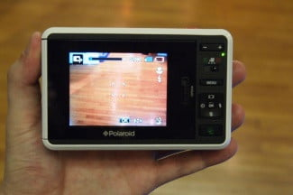 Polaroid Z2300 Camera screen