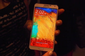Samsung Galaxy Note 3 Hands On lock screen
