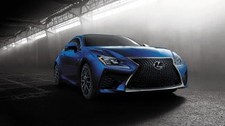 2015 Lexus RC F front right