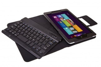 IVSO Bluetooth Keyboard Portfolio Case