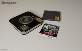 Instagram Socialmatic prints cartridge
