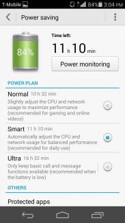 Huawei Ascend P7 Battery Saver
