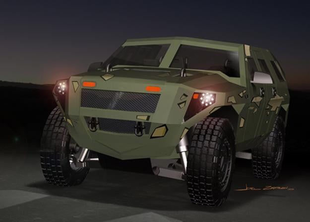 Us Military Planning To Go Green With Hybrid Humvees