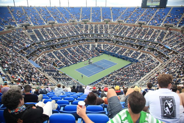 us open introduces giant social wall