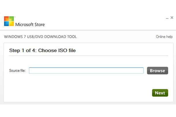 Reinstall Step 1: Choosing ISO File
