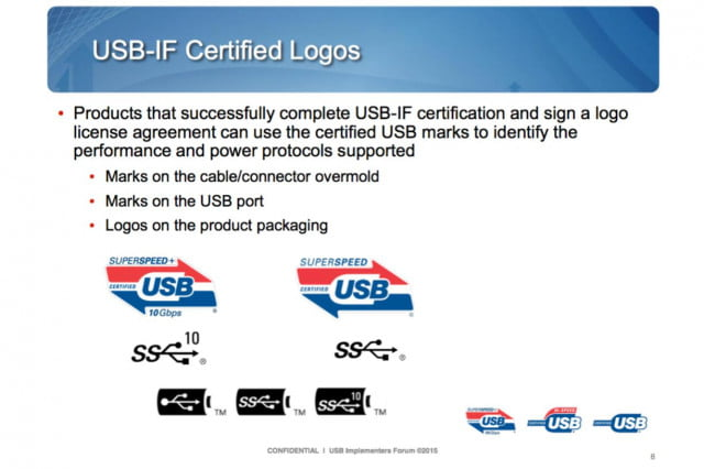 usb type c stickers help avoid confusion usbif logo