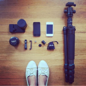 wedding shoot devices