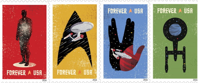 usps issues star trek stamps for  th anniversary