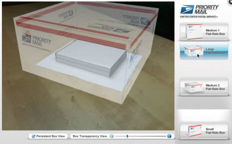 USPS priority mail shipping simulator