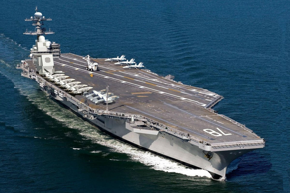 us navy electromagnetic aircraft launch system uss gerald ford