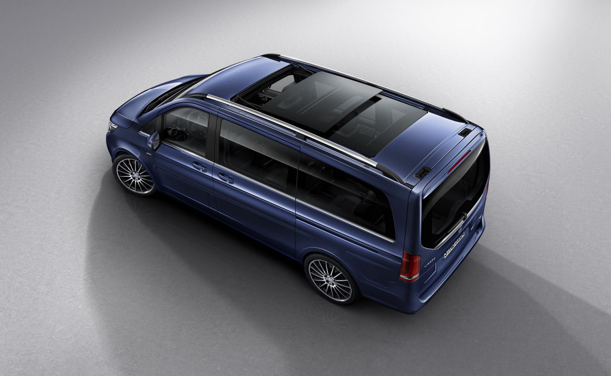 mercedes benz v class exlusive news pictures specs exclusive