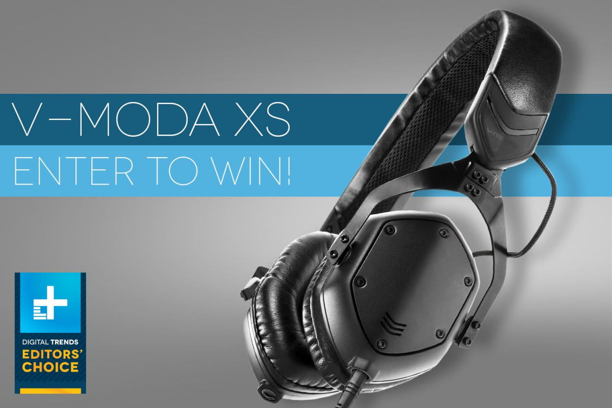 dt giveaway win free pair v moda xs premium ear headphones contest