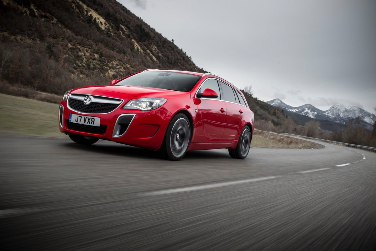 uk connected highway testing vauxhall insignia vxr