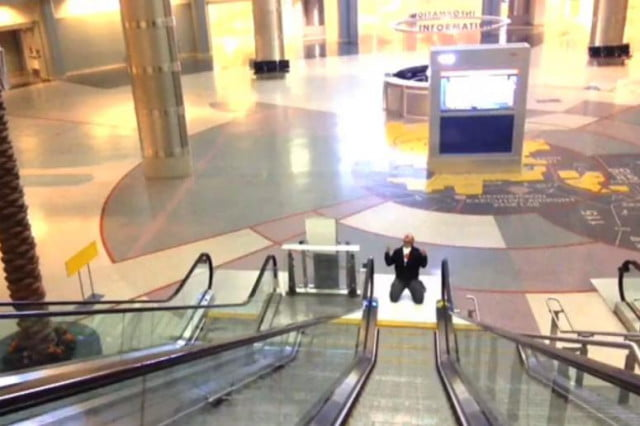 vegas airport video