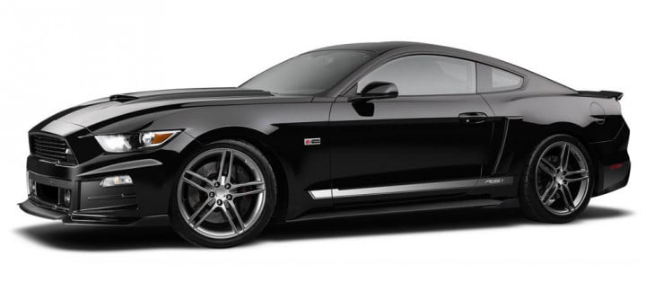 supercharged symphony  roush mustang sings sweet song stage
