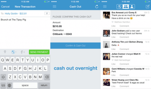 Venmo App Screns
