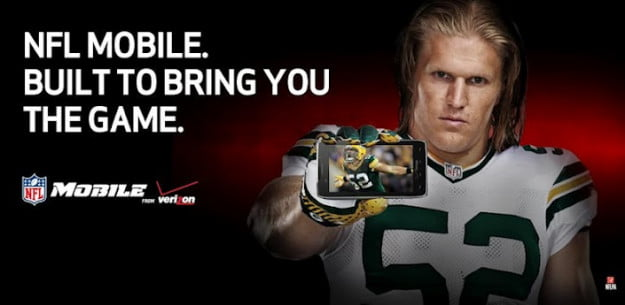 Verizon NFL mobile Banner