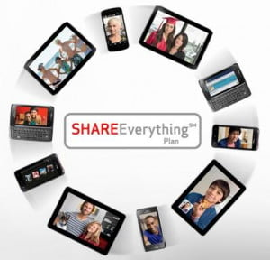 Verizon Share Everything plan devices