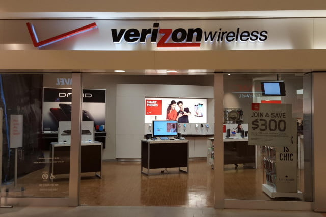 verizon ellipsis  hd wireless logo store front