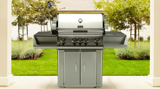 Vermont Castings 422 gas grill review front outdoor barbeque