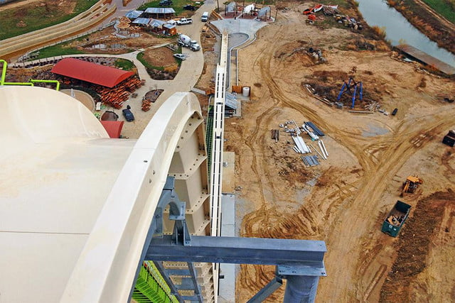 worlds tallest waterside faces delays verruckt waterslide